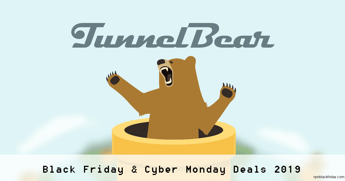 tunnelbear black friday and cyber monday deals